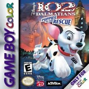 102 Dalmations Puppies to the Rescue - Game Boy Color