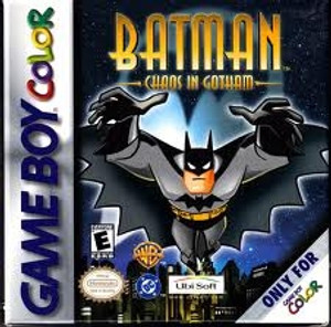 Batman Chaos In Gotham - GameBoy Color Game