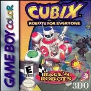Cubix Race'N Robots - Game Boy Color