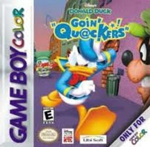 Donald Duck Goin' Quackers - Game Boy Color
