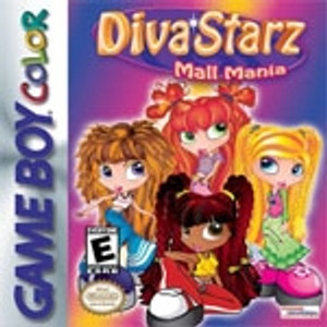 Diva Starz Mall Mania - Game Boy Color