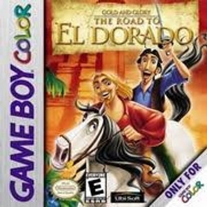 Gold And Glory The Road To El Dorado- Game Boy Color