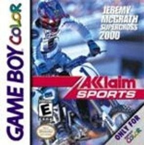 Jeremy Mcgrath Supercross 2000 - Game Boy Color