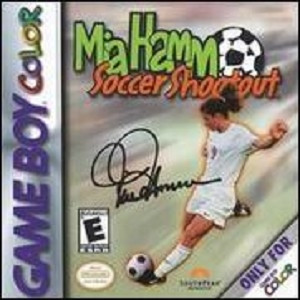 Mia Hamm Soccer Shootout - Game Boy Color
