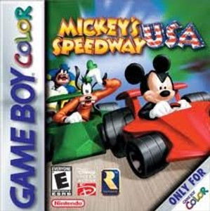 Mickey's Speedway USA - Game Boy Color