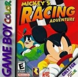 Mickey's Racing Adventure - Game Boy Color