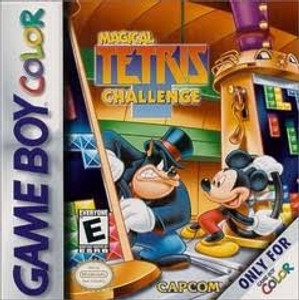 Magical Tetris Challenge- Game Boy Color