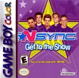 NSYNC Get To The Show - Game Boy Color