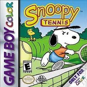 Snoopy Tennis - Game Boy Color