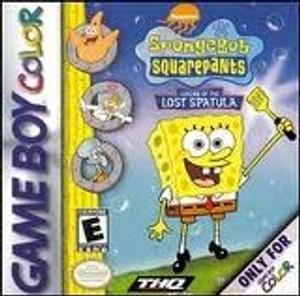 SpongeBob SquarePants Legend of The Lost Spatula - Game Boy Color