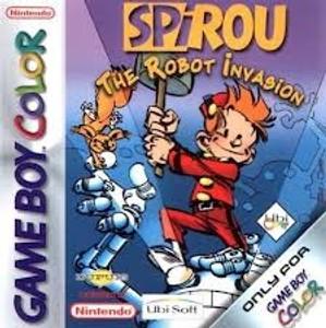 Spirou The Robot Invasion - Game Boy Color