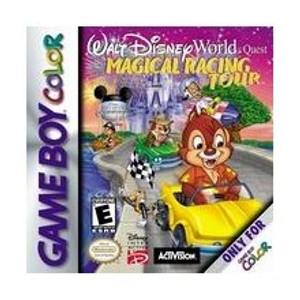 Walt Disney World Quest: Magical Racing Tour - Game Boy Color