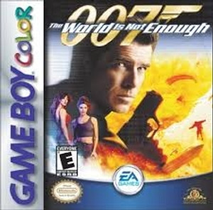 007 the World Is Not Enough - Game Boy Color