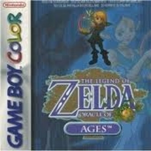 Legend of Zelda Oracle of Ages - Game Boy Color