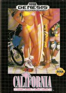 California Games - Genesis Game