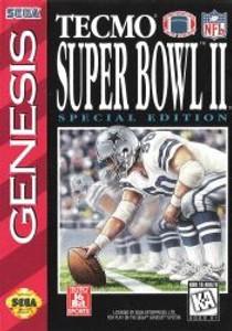 Tecmo Super Bowl II SE - Genesis Game
