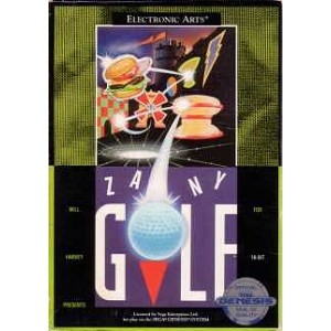 Zany Golf - Genesis Game