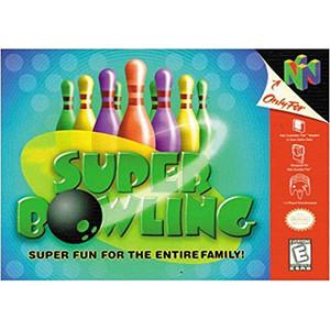 Super Bowling - N64 Game