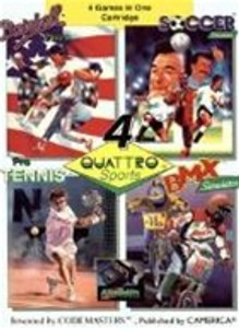 Quattro Sports(4 IN 1) - NES Game