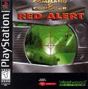 Command & Conquer Red Alert - PS1 Game