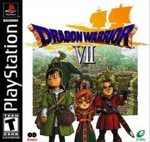 Dragon Warrior VII - PS1 Game