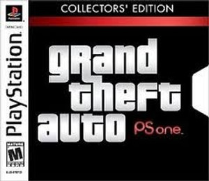 Grand Theft Auto Collectors Edition- PS1 Game