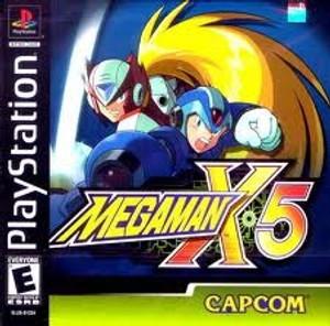 Mega Man X5 - PS1 Game