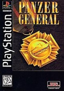 Panzer General - PS1 Long Box Game
