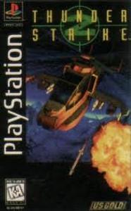 Thunder Strike - PS1 Long Box Game