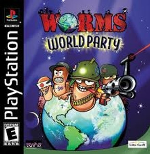 Worms World Party - PS1 Game