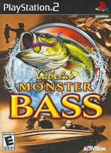 Cabela's Monster Bass - PS2 Game