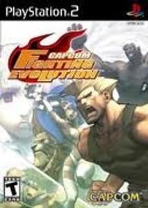 Capcom Fighting Evolution - PS2 Game
