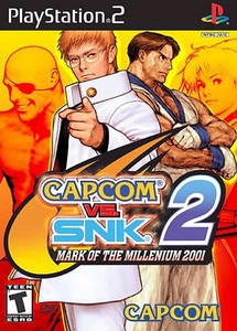 Capcom Vs. SNK 2 Mark Of The Millennium - PS2 Game