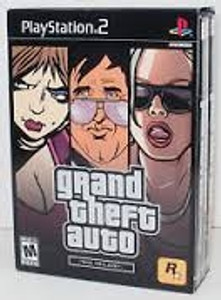 Grand Theft Auto The Trilogy - PS2 Game