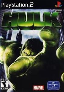 Hulk - PS2 Game