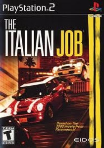 Italian Job - PS2 Game