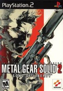 Metal Gear Solid 2 Sons Of Liberty - PS2 Game