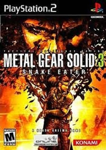 Metal Gear Solid 3 Snake Eater - PS2 Game