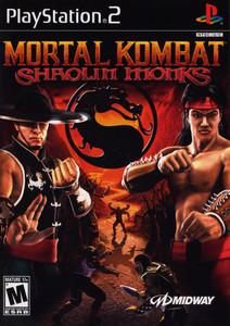 Mortal Kombat Shaolin Monks - PS2 Game