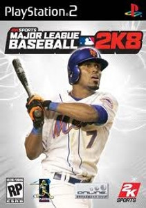 MLB 2K8 - PS2 Game