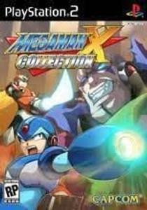 Mega Man X Collection - PS2 Game