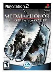 Medal of Honor European Assault - PS2 Game