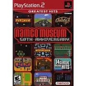 Namco Museum 50th Anniversary - PS2 Game