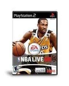 NBA Live 08 - PS2 Game