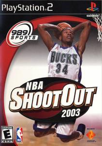 NBA ShootOut 2003 - PS2 Game
