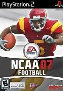 NCAA Football 07 - PS2 Game