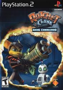 Ratchet & Clank Going Commando - PS2 Game