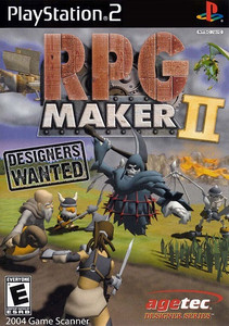 RPG Maker II - PS2 Game