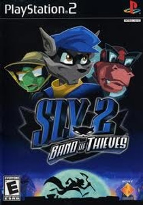 Sly 2 Band of Thieves - PS2 Game