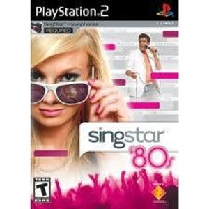 Singstar 80's - PS2 Game